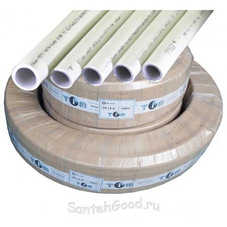 Металлопластиковая труба d-32мм (бухта 50м) TIM