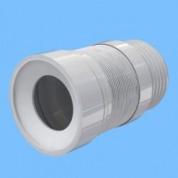 Удлинитель гибкий для унитаза Ани Пласт с выпуском 110 мм K821