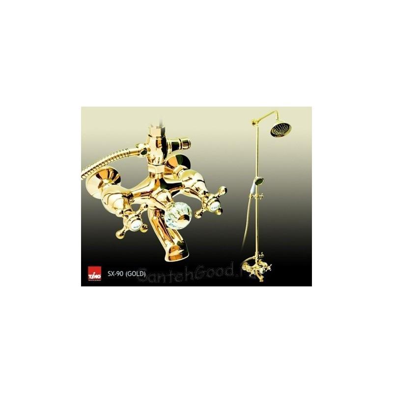 Душевая система TIMO SX-90 GOLD (золото)