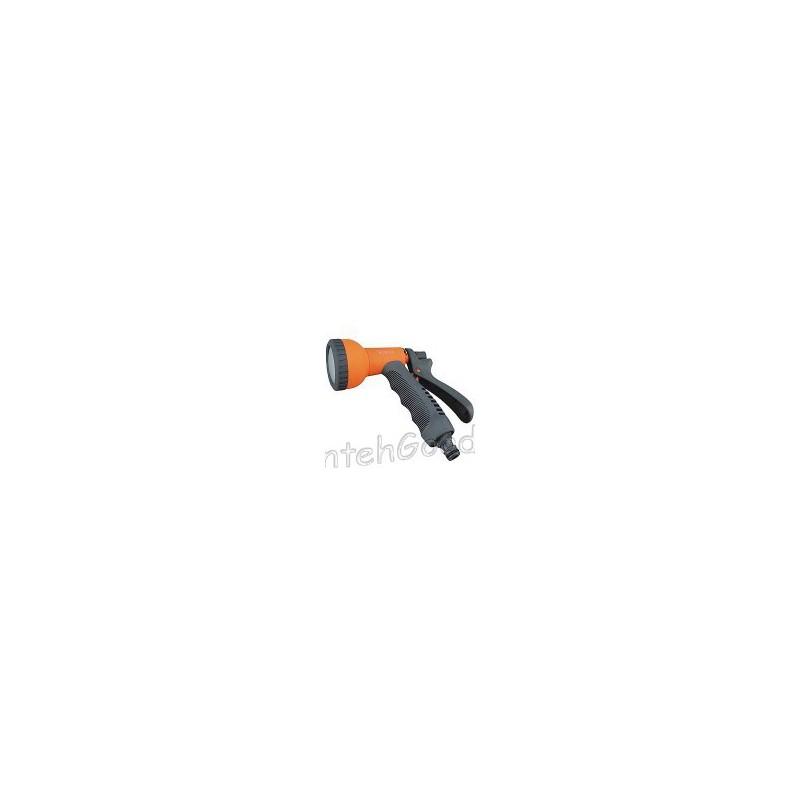 Пистолет разбрызгиватель для полива пластиковый мягкая ручка (1 режим - душ)