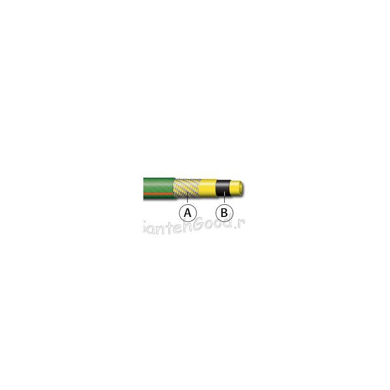FLASH NTS Шланг поливочный 5-и слойный зелёный 1″ бухта 25 м