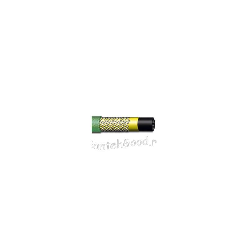 SUN Шланг поливочный армированный 4-х слойный 1/2″ бухта 25 м