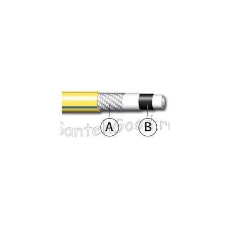 WHITE PLUS NTS Шланг поливочный 5-и слойный жёлтый 1″ бухта 25 м