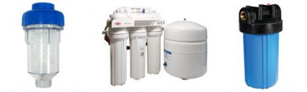 Фильтры для воды с колбами